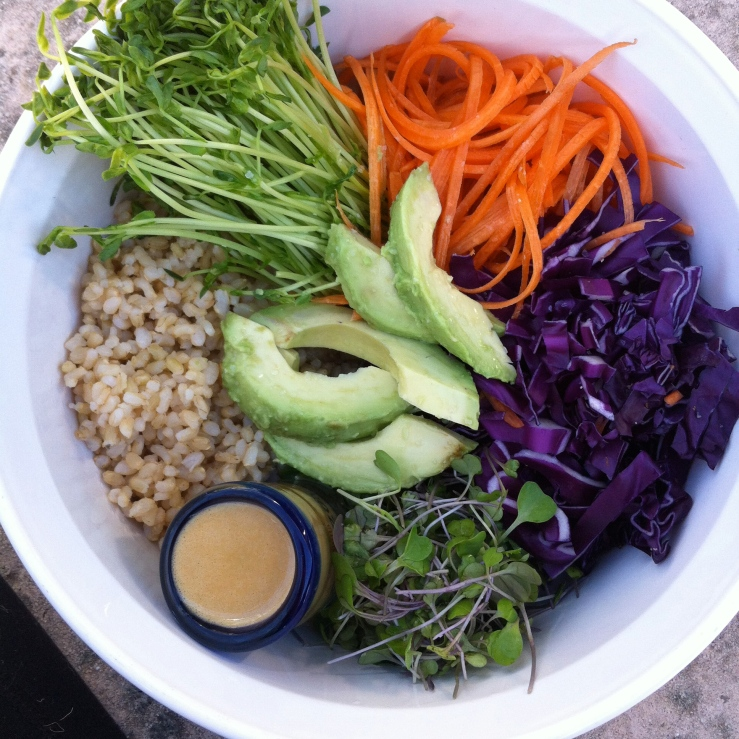 macrobiotic bowl vegan