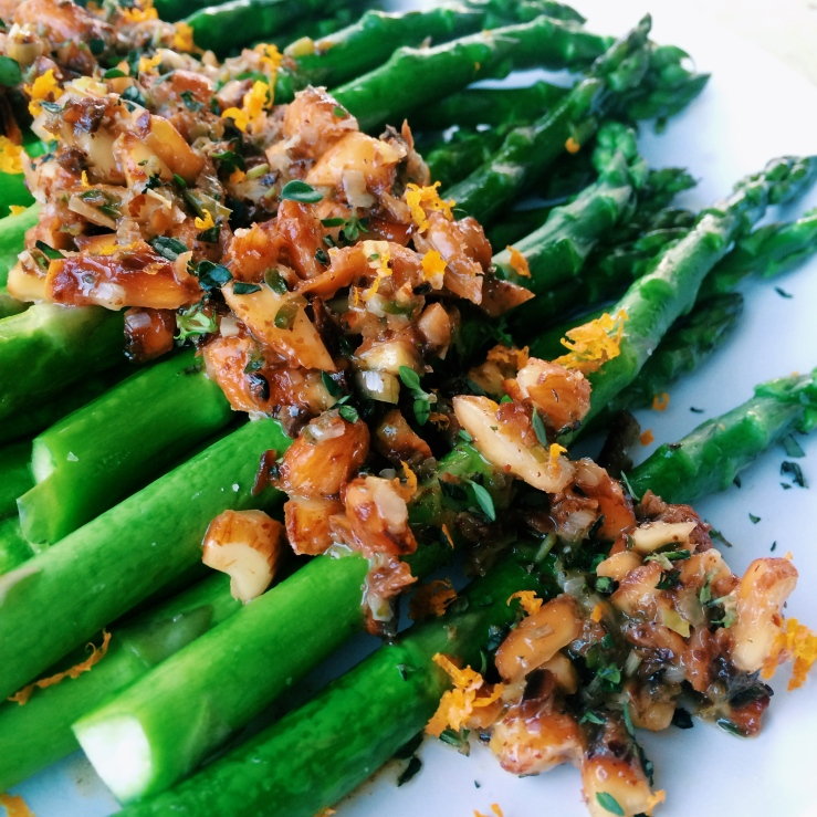 orange almond thyme asparagus cooks illustrated