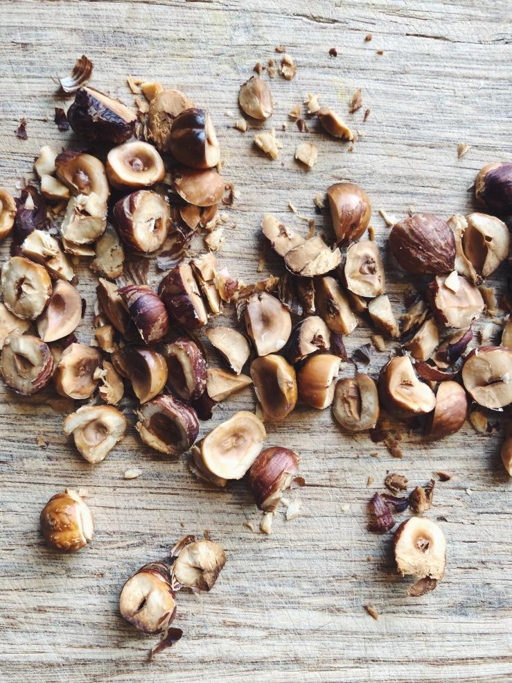 hazelnuts roasted  organic zero waste