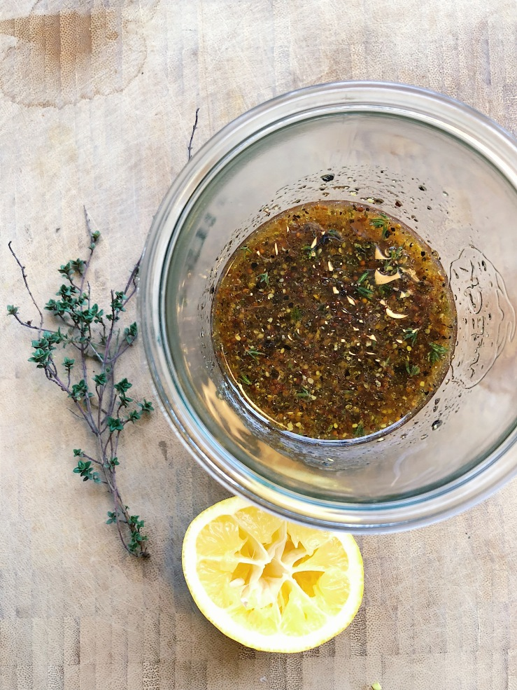 mustard vinaigrette lemon thyme french