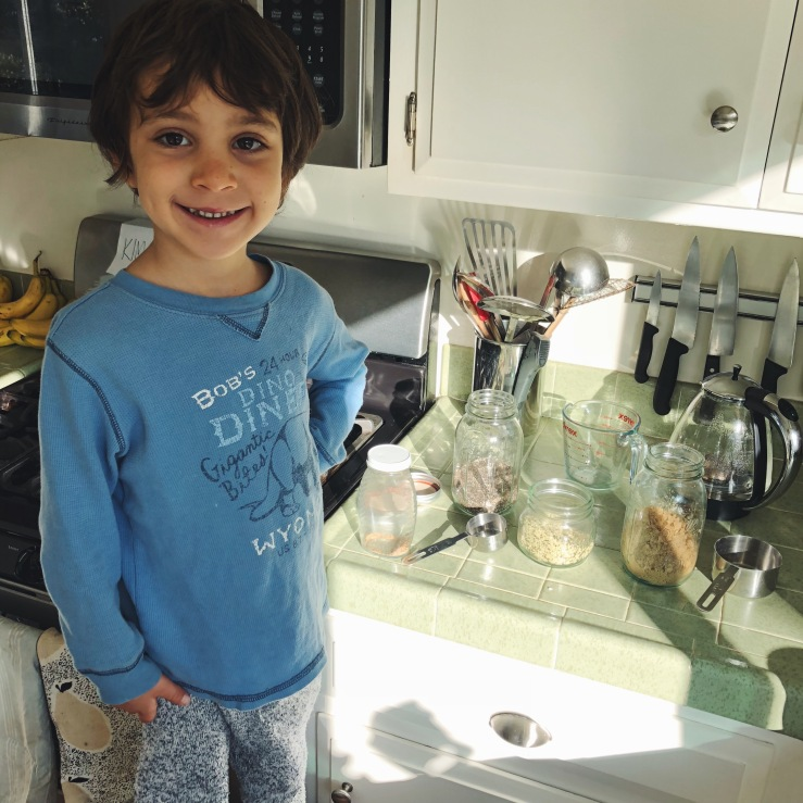 Kids vegan cook