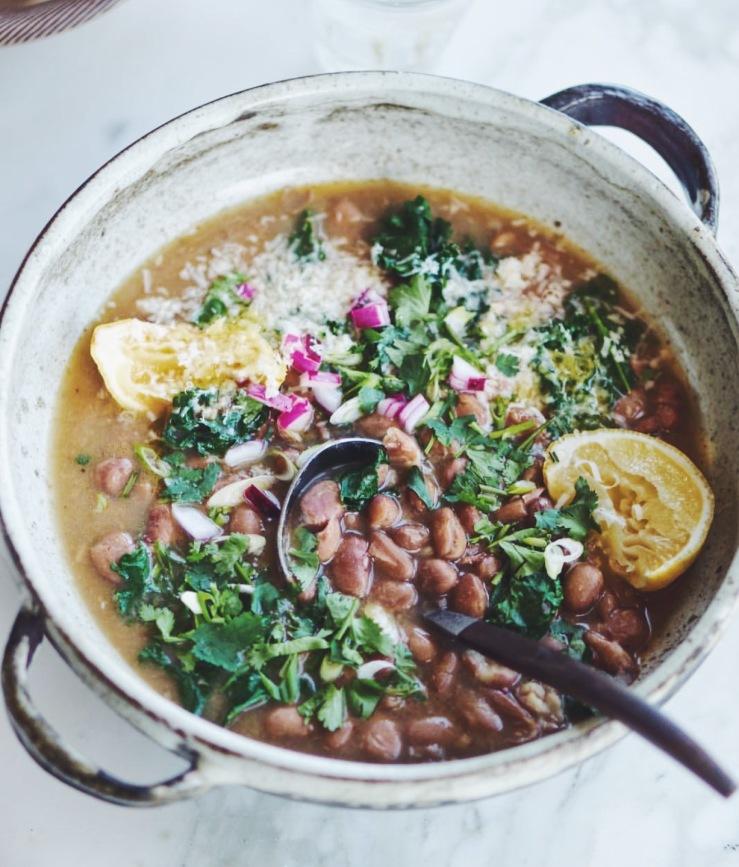 heidi Swanson beans instant pot vegan meal plan gluten free