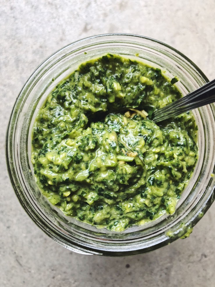 green Miso paste cilantro Heidi swanson
