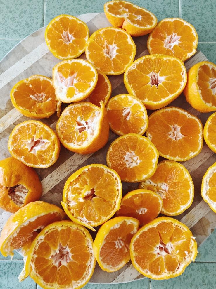 tangerine juice raw