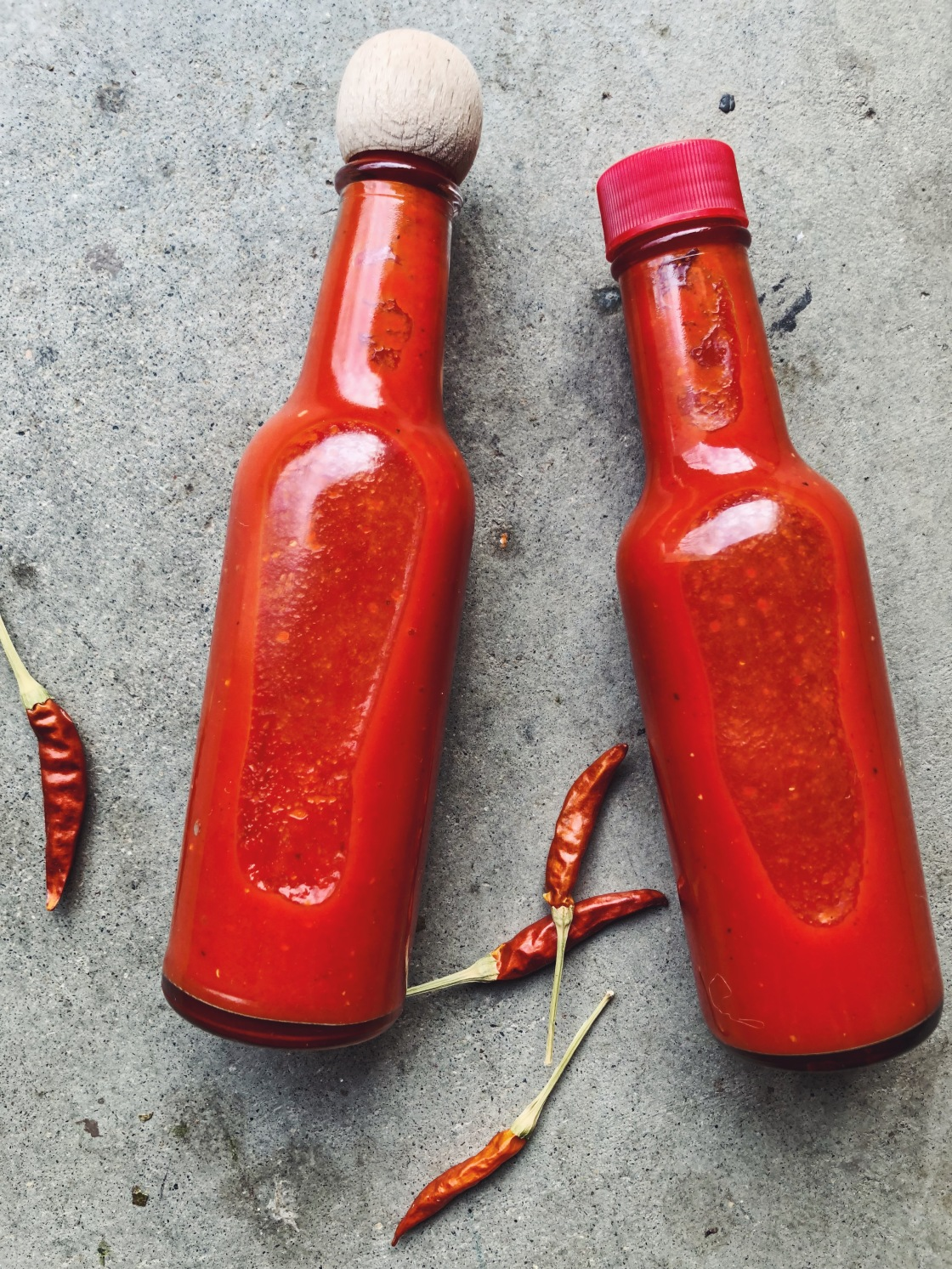 fermented red Fresno Chile habanero hot sauce probiotic vegan