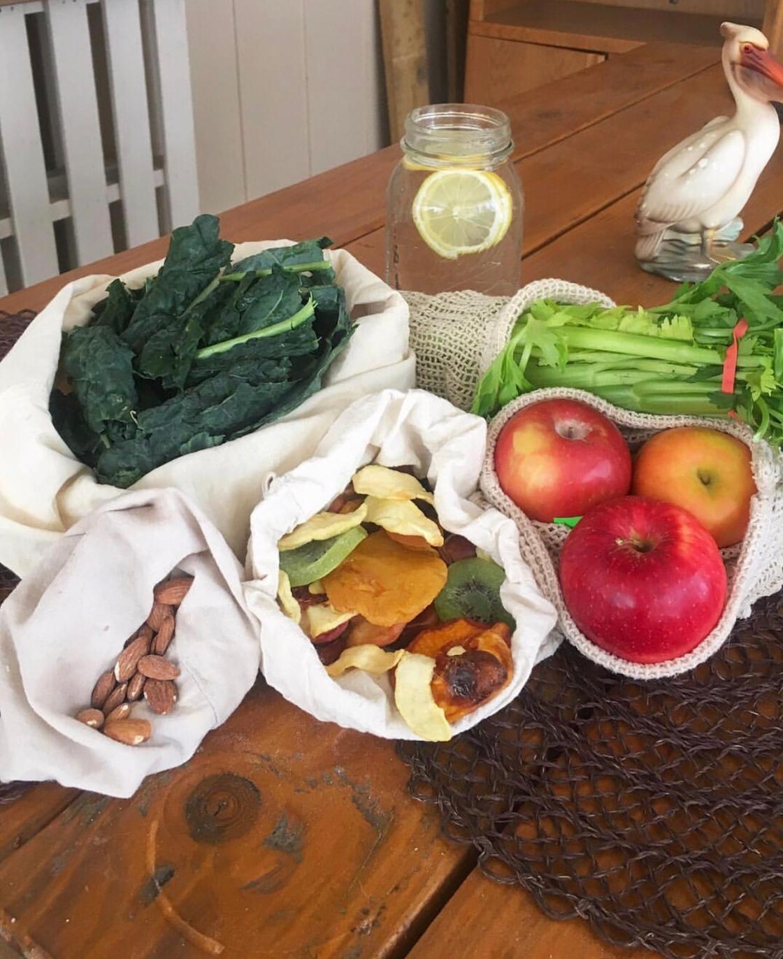 Zero waste vegan food