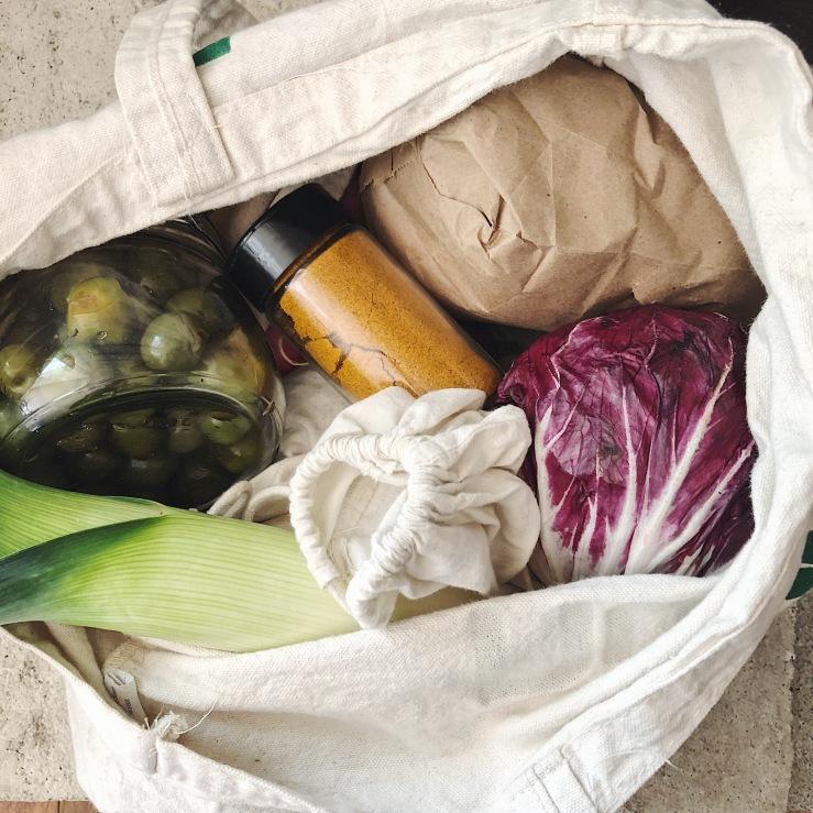 shopping Package free zero waste