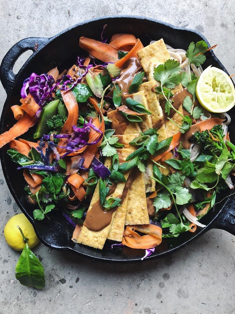 Pad Thai vegan tofu