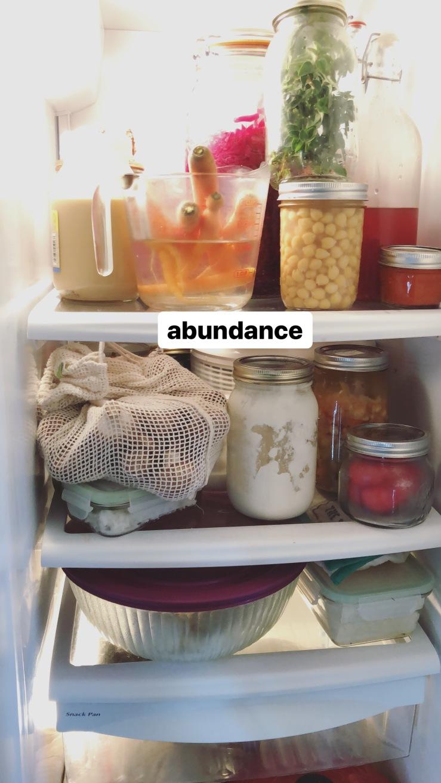 fridge plastic free zero waste