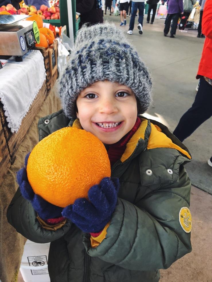 Vegan kid winter california