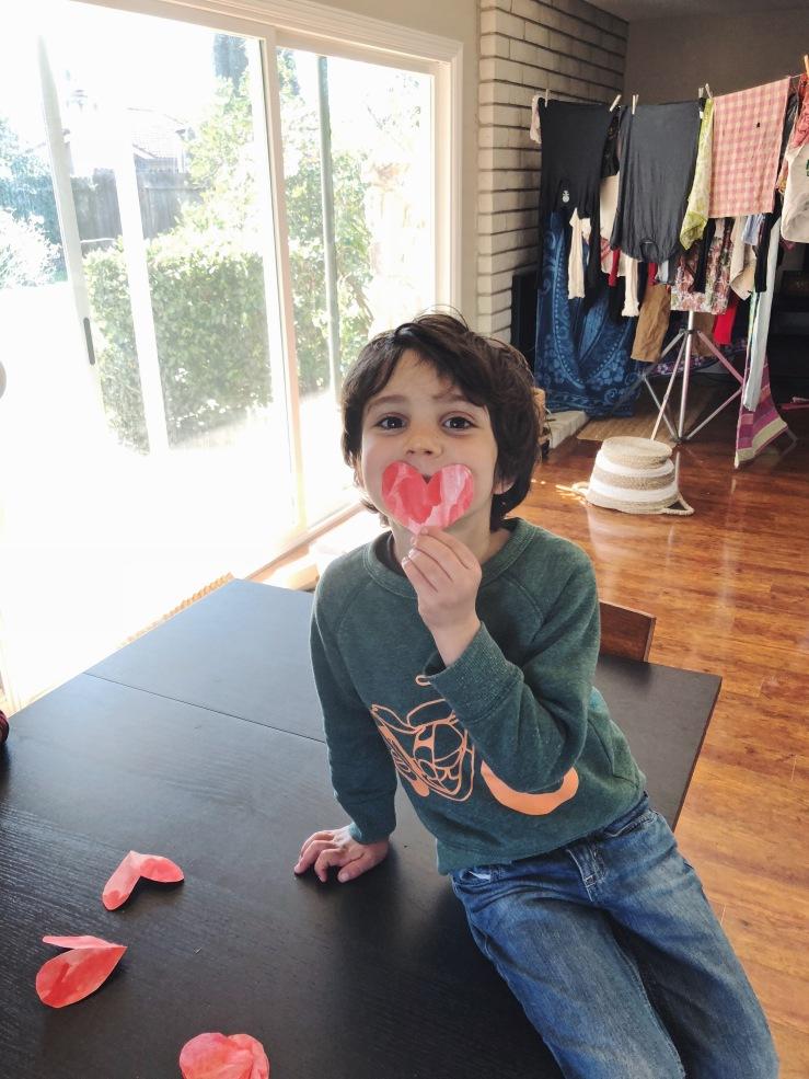 Zero waste kids valentines