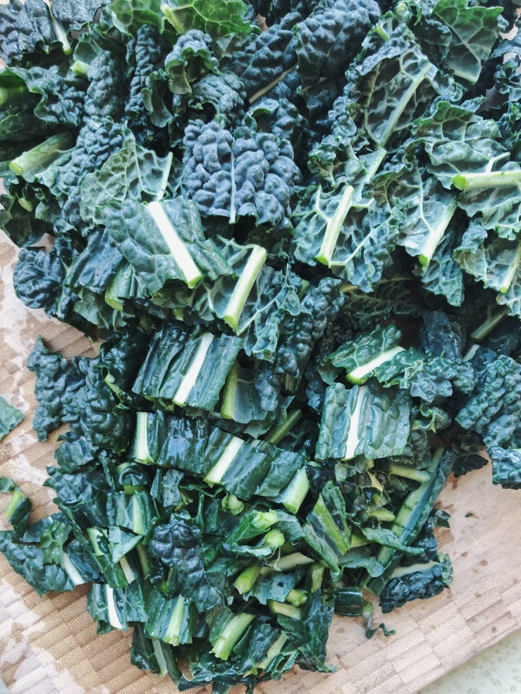 vegan coconut kale