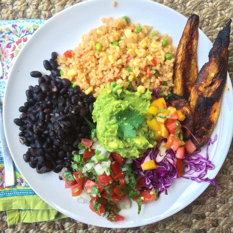 plantain bowl vegan gluten free