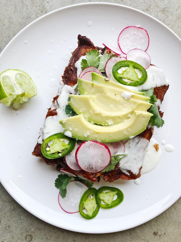 vegan enchiladas vegetarianas