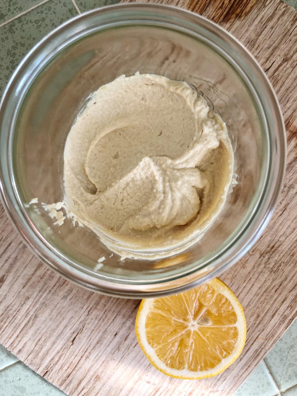 Hummus vegan easy fast zero waste