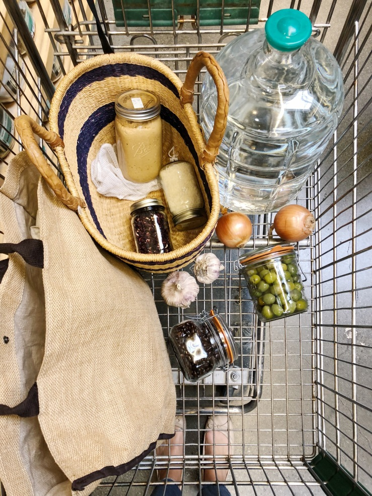 Zero waste shopping cart