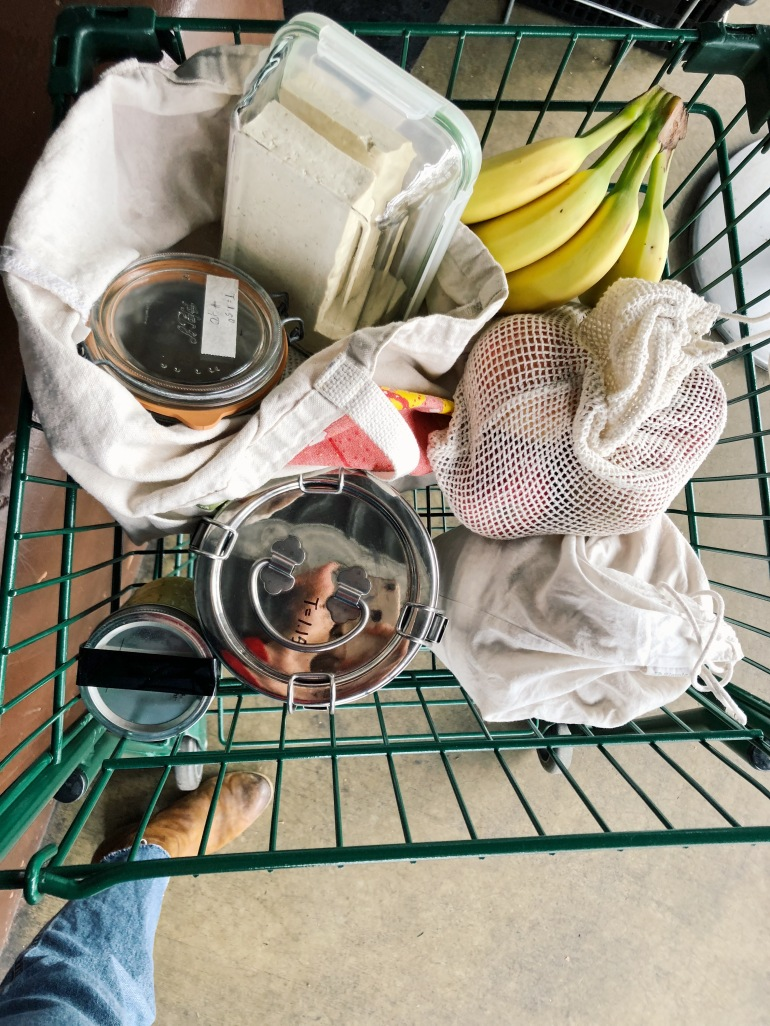 zero waste grocery haul