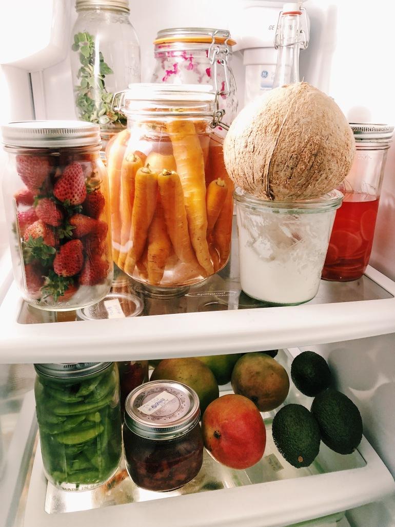 zero Waste fridge plastic free storage