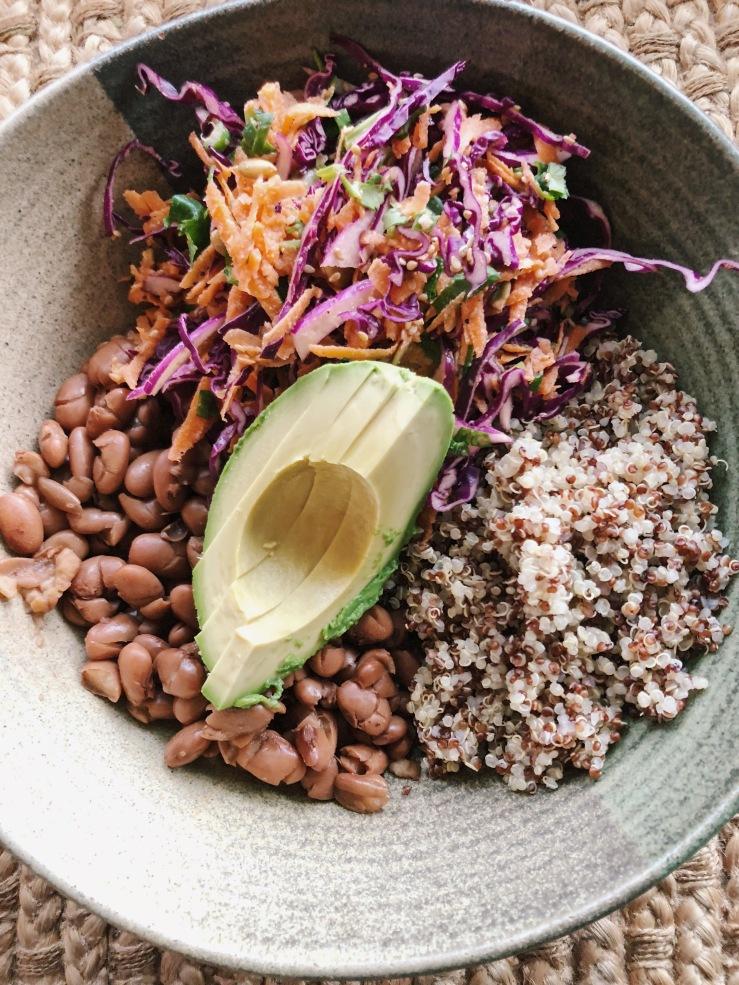 bean Quinoa bowl
