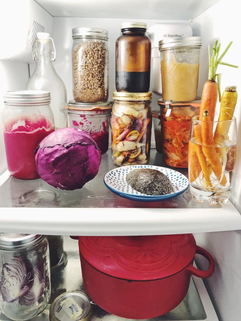 Zero waste fridge