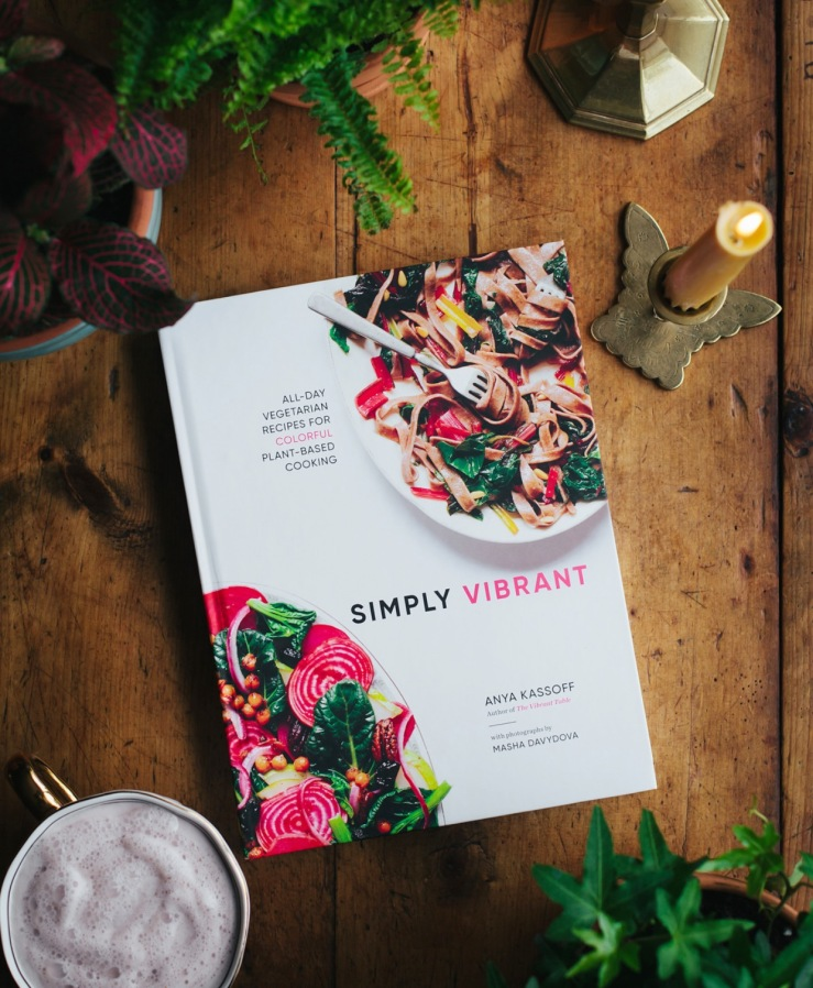 simply vibrant cookbook