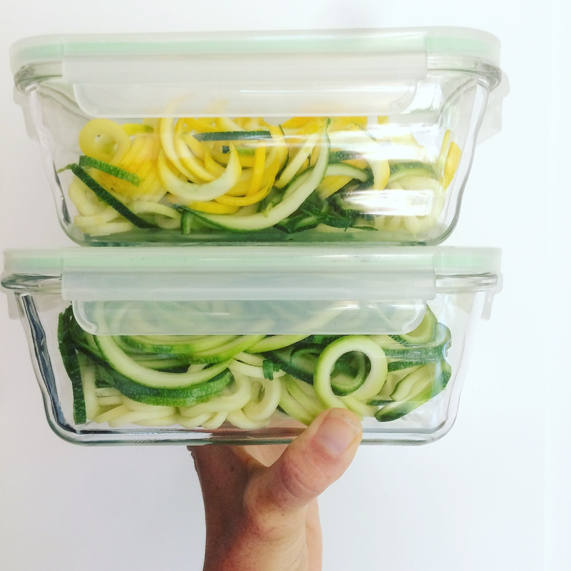 Zoodles zucchini