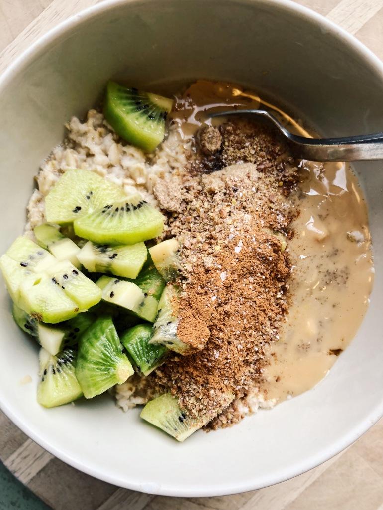 Kiwi oats