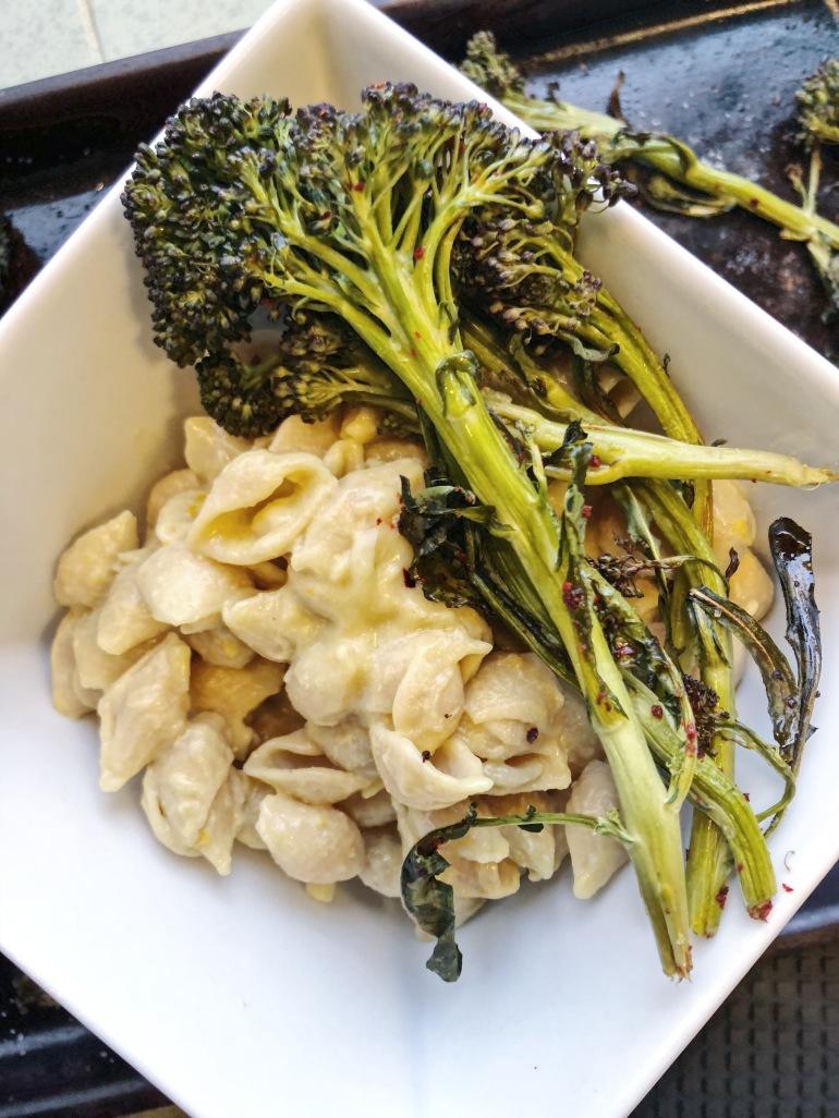 pasta nooch broccoli