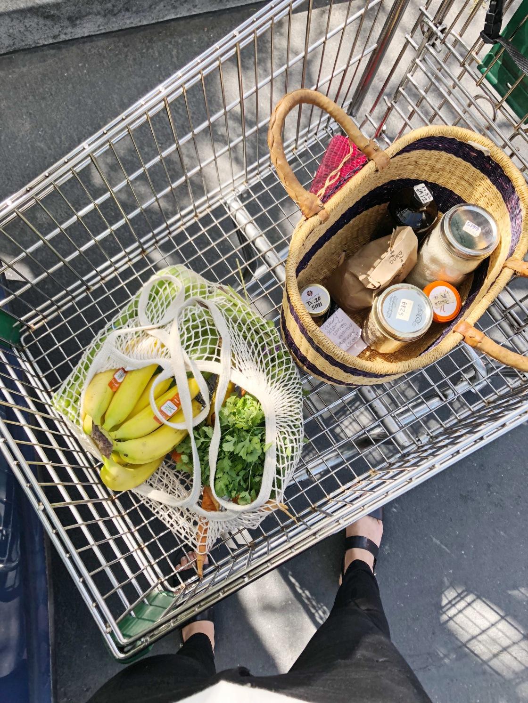 Vegan zero waste groceries