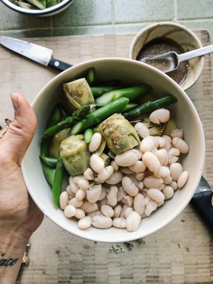 polenta Beans