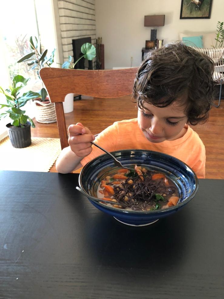 Kids vegan food