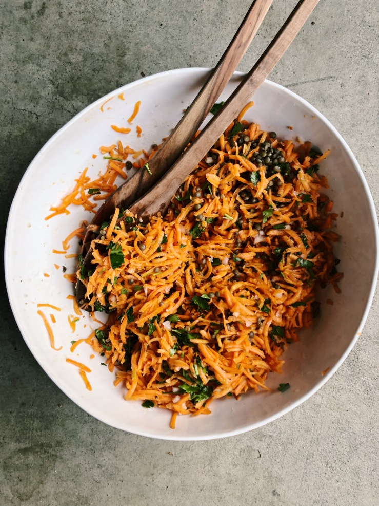 carrot salad vegan french David Leibovitz