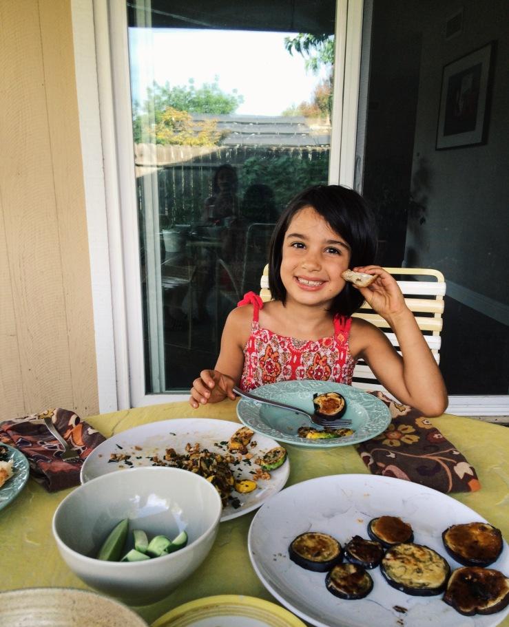Eggplant picky eater