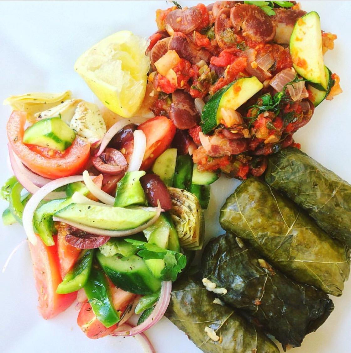 Dolmas Greek vegan