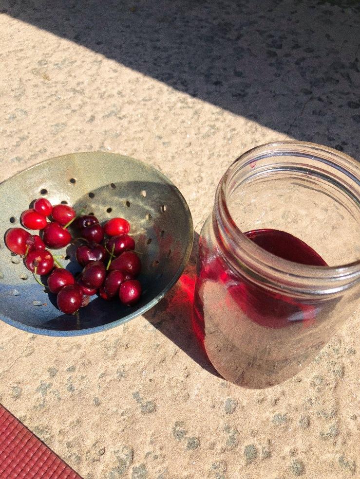 Raspberry leaf infusion