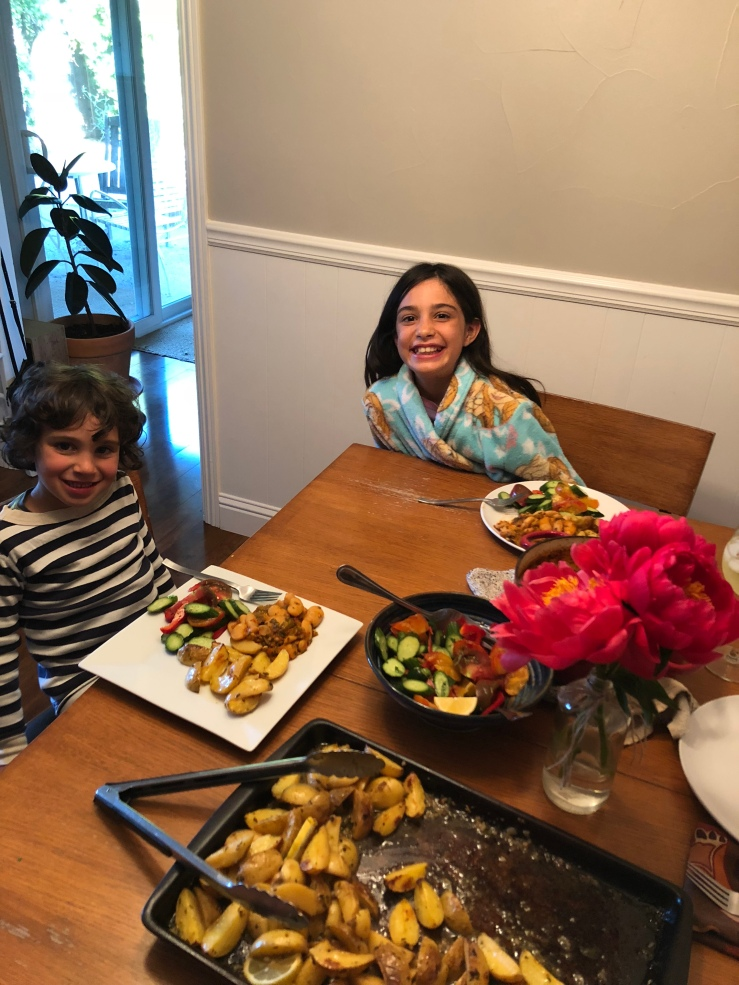 kids vegan Greek night