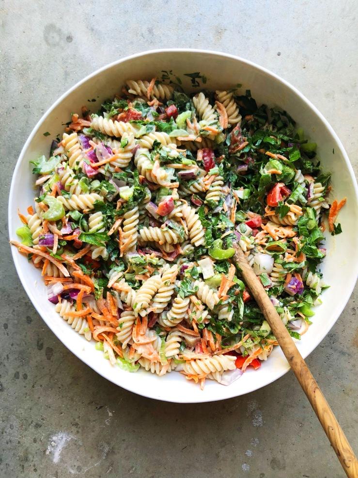 macaroni salad vegan gluten free
