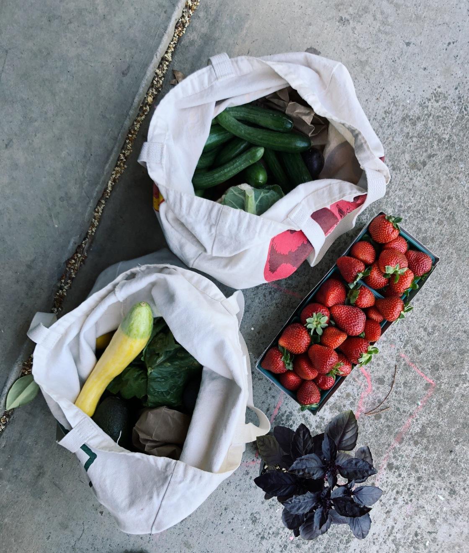 Zero waste groceries