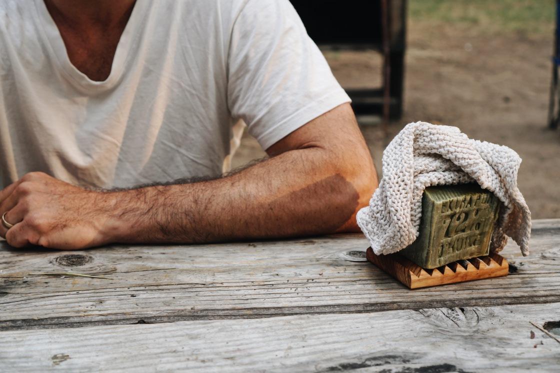 savon marseille zero waste dishes camping soap