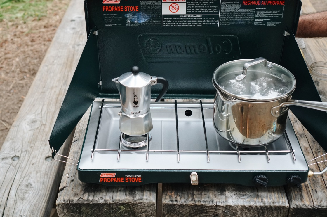 zero waste camping coffee