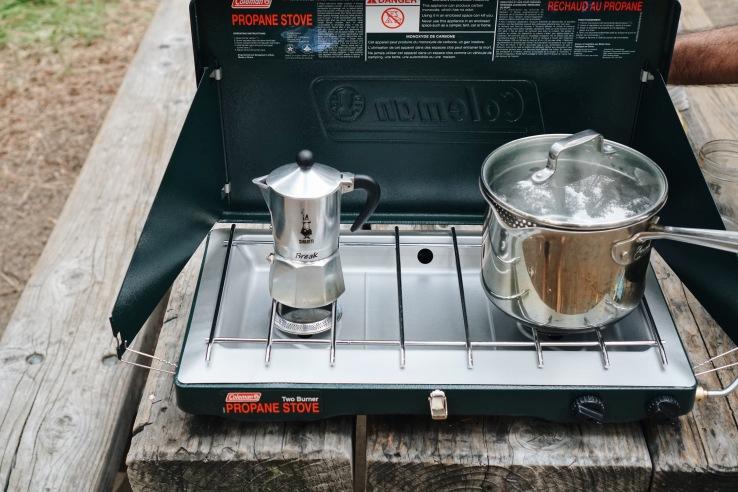 zero waste camping coffee