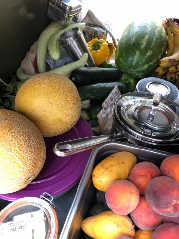 food vegan zero waste camping