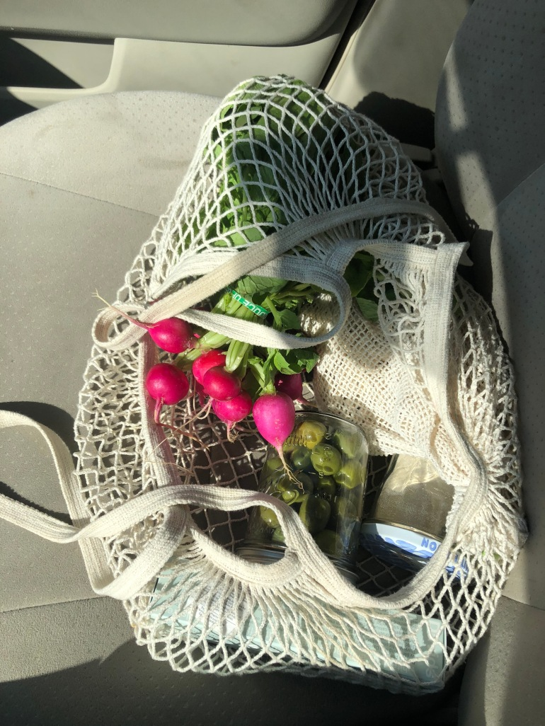 radish zero waste shopping