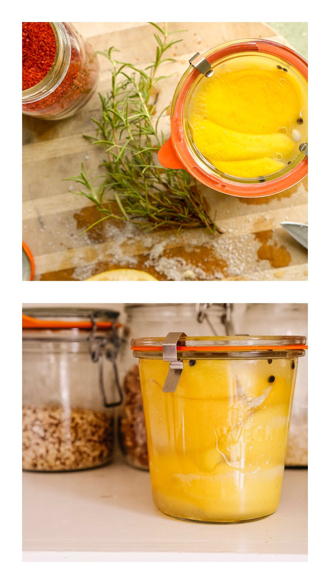 Preserved lemons zero waste vegan gift
