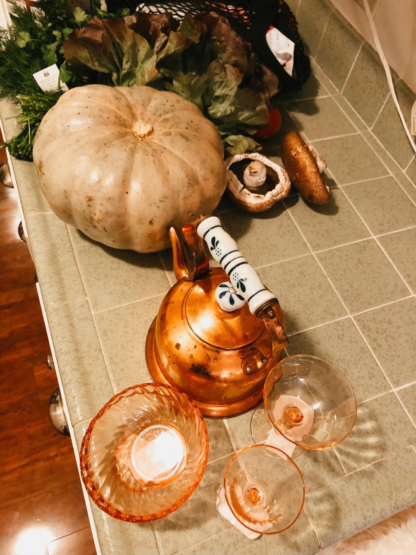 copper kettle thrifted pumpkin haul